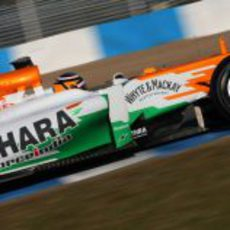 Hülkenberg a los mandos del Force India VJM05