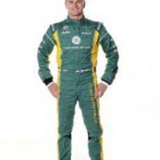 Heikki Kovalainen, piloto de Caterham en 2012
