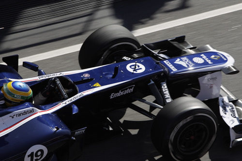 Vista superior del morro del Williams en Barcelona