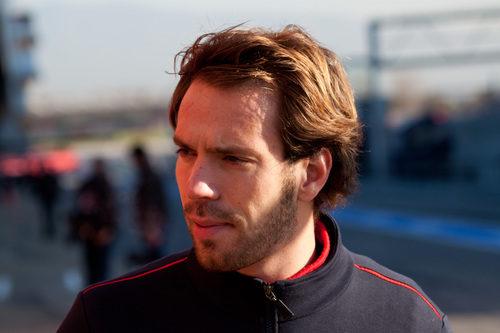 Jean-Eric Vergne en el Circuit de Catalunya
