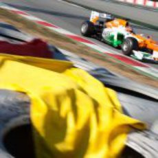 ¿Bandera amarilla para Nico Hülkenberg?