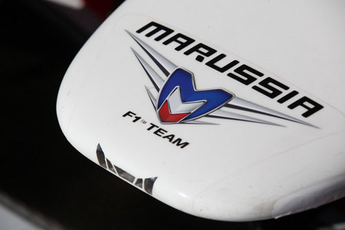 Detalle del morro del Marussia de 2011