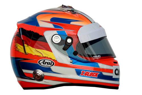 Casco de Timo Glock para 2012