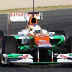 Paul di Resta al volante del Force India