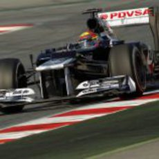 El Williams de Maldonado en Barcelona
