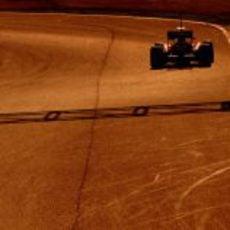 Cae la tarde sobre el Circuit de Catalunya