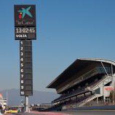 Recta principal del Circuit de Catalunya