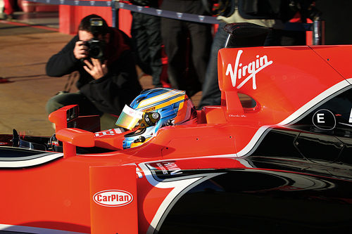 Charles Pic al volante del Marussia de 2011