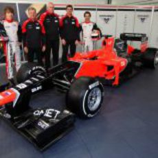 Marussia MR01 de 2012