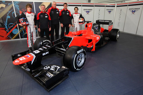 Marussia MR01 de 2012
