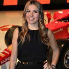 Nira Juanco en la presentación de Antena 3