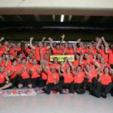 Foto de equipo de McLaren