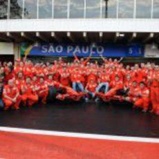 Foto de equipo de Ferrari