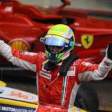 Massa celebra su victoria