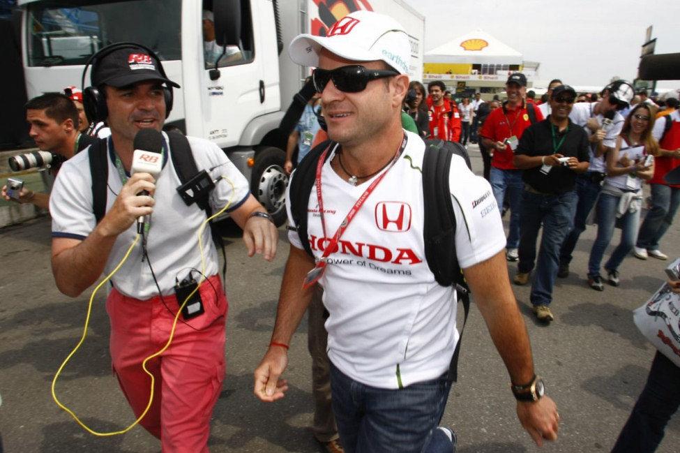 Barrichello llega a Interlagos