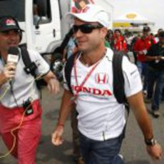 Barrichello llega a Interlagos