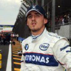 Kubica no se fia del tiempo