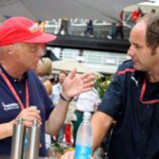 Berger y Lauda