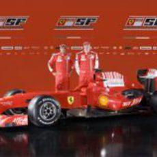 F60: Felipe Massa y Kimi Raikkonen