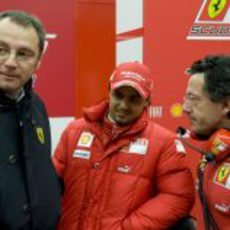 Ferrari prueba el F60