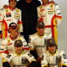 Foto de familia Renault 2009