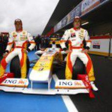 R29: Piquet y Alonso