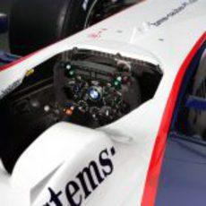 El volante del BMW Sauber F1.09