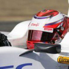 Kamui Kobayashi pilotando el Sauber C31