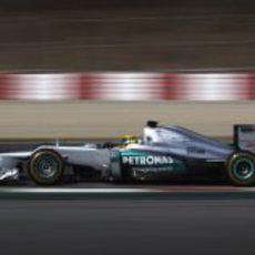 Rosberg da el máximo con su W03