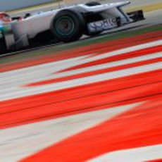Schumacher sigue sacando el máximo partido al Mercedes W03