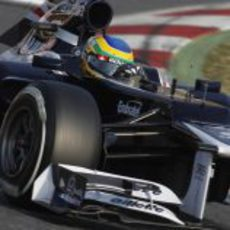 Bruno Senna con el Williams FW34