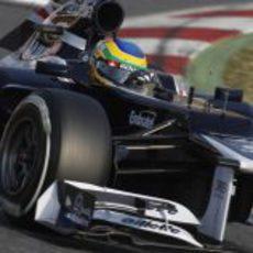 Bruno Senna con el Williams FW34