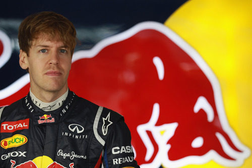 Sebastian Vettel ante la temporada 2012 de F1