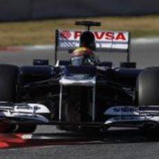 Pastor Maldonado sigue sacando el máximo de su FW34
