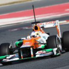 Paul di Resta rueda con el Force India VJM05