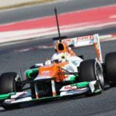 Paul di Resta rueda con el Force India VJM05