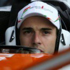 Jules Bianchi con el VJM05