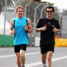Dani Clos y Pedro de la Rosa entrenan en Australia