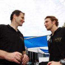Luis Pérez-Sala y Dani Clos en Melbourne