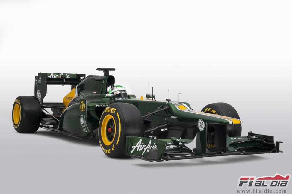 CT01, el coche de Caterham para la temporada 2012