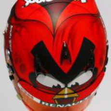Nuevo casco de Heikki Kovalainen para 2012 (superior)