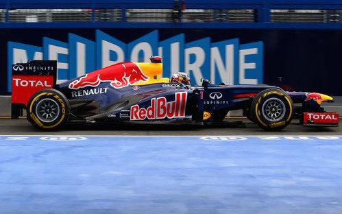 Sebastian Vettel a bordo de su RB8 en Albert Park