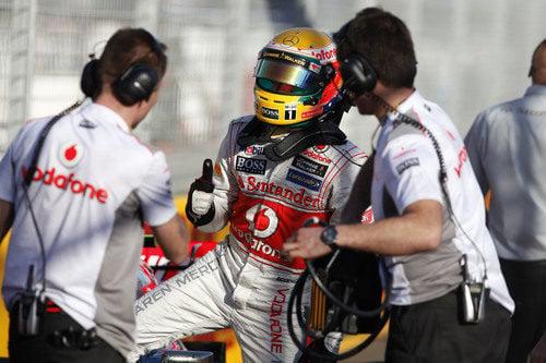 Lewis Hamilton logra la'pole' en el GP de Australia 2012