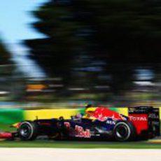 Mark Webber en la clasificación del GP de Australia 2012