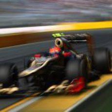 Romain Grosjean es tercero en la clasificación del GP de Australia 2012