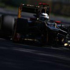 Kimi Räikkönen se queda eliminado en la Q1 en Australia 2012