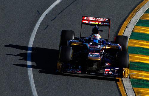 Jean-Eric Vergne rueda con el Toro Rosso en el Gran Premio de Australia