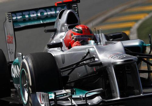 Michael Schumacher consigue su mejor clasificación desde Japón 2006