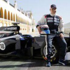 Valtteri Bottas es el piloto probador de Williams en 2012