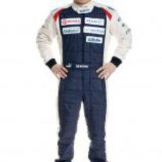 Valtteri Bottas, piloto probador de Williams para 2012